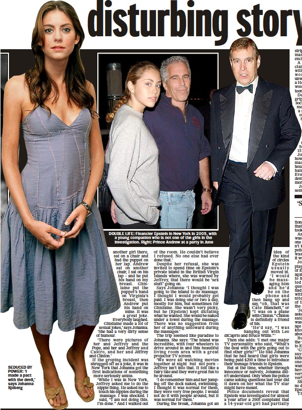 Pressreader The Mail On Sunday 2007 09 23 Prince Andrew S Friend Underage Girls And A Very