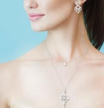 The Tiffany Key Victoria Pendant And Jazz Earrings