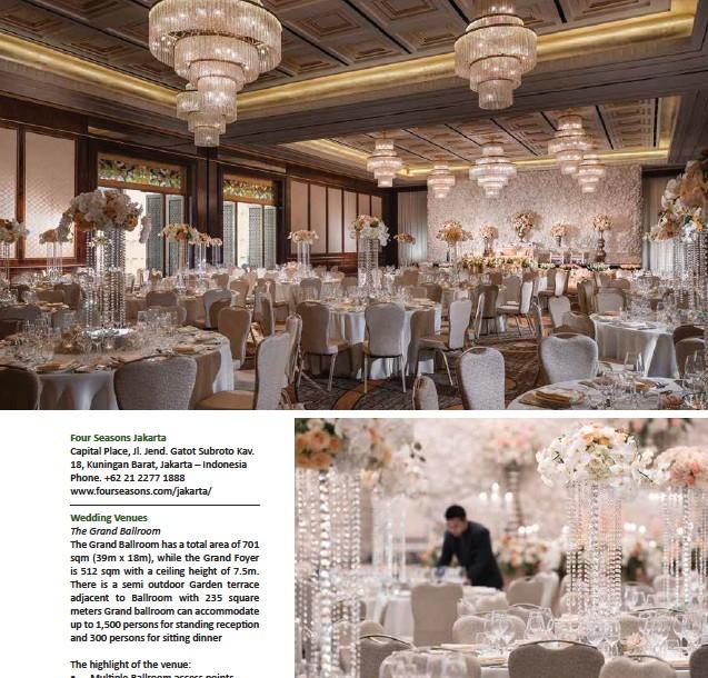 The Four Seasons Wedding Pressreader - Wedding Venue Jakarta, 7 Rekomendasi Wedding Venue Intimate Di Jakarta Yang Mempesona Tempat Com