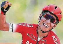 ?? EFE ?? Nairo Quintana se enfrentará hoy con varias de las grandes estrellas del ciclismo mundial. Además, probará el estado de sus rodillas.