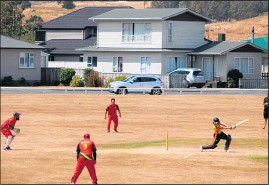 ??  ?? Dannevirke Premier Two Captain Andrew Galloway plunders the bowling on his was to 51 not out.