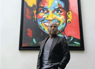 ?? Picture: Alon Skuy ?? Sandile Zungu, Black Business Council president, says it can help black US partners 'navigate' SA's commercial terrain.