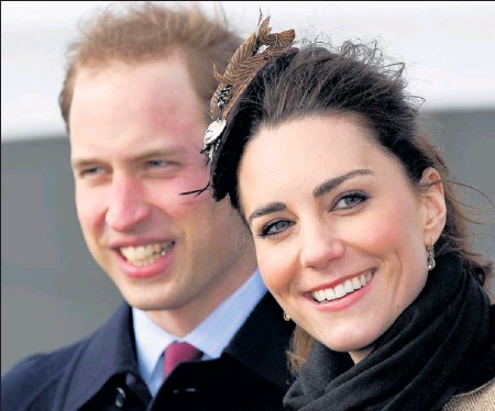 ?? By Phil Noble, AP ?? Royal wedding: Britain's Prince William and his fiancée, Kate Middleton, announced their engagement last November and plan to marry April 29.