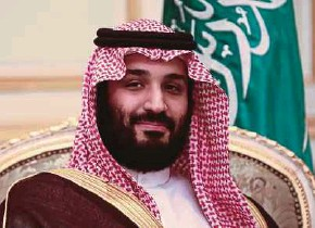 ?? BLOOMBERG PIC ?? Saudi Crown Prince Mohammed Salman has won plaudits for seeking to reduce Saudi Arabia's reliance on oil and tackle chronic corruption.