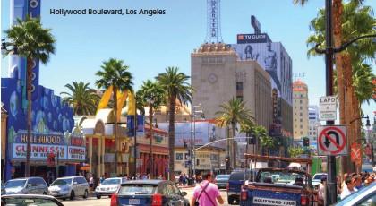 ??  ?? Hollywood Boulevard, Los Angeles