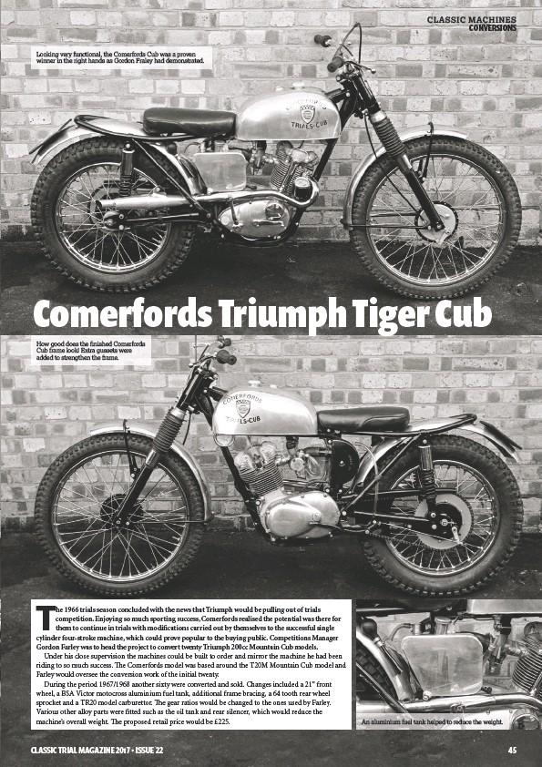 Pressreader Classic Trial 2017 08 01 Comerfords Triumph Tiger Cub