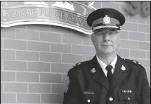 ?? Submitted photo ?? Lorne Blumhagen has been Chief of Police at the Lacombe Police Service since 2017.