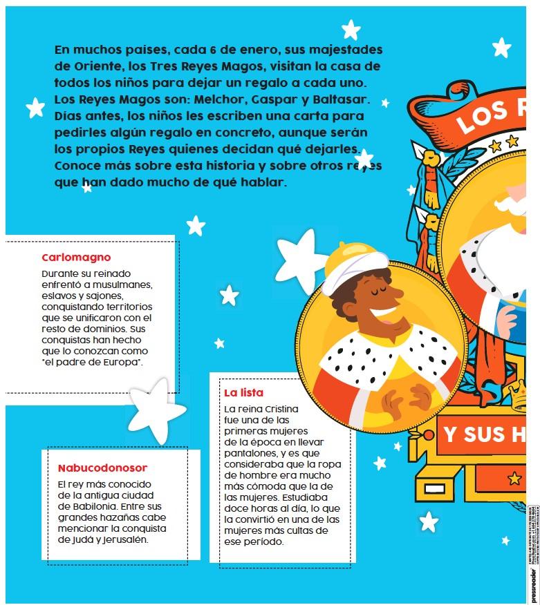 PressReader - Vanguardia: 2019-01-06 - LOS REYES Y SUS HISTORIAS