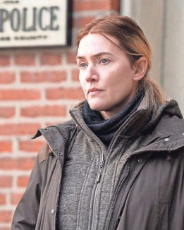 """?? PROVIDED BY MICHELE K. SHORT/HBO ?? Kate Winslet is Mare Sheehan, a Pennsylvania detective investigating a murder in HBO's """"Mare of Easttown."""""""