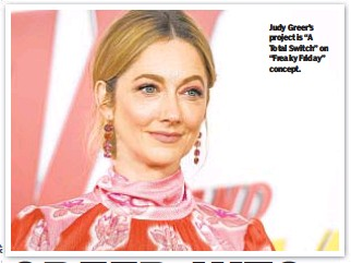 """??  ?? Judy Greer's project is """"A Total Switch"""" on """"Freaky Friday"""" concept."""