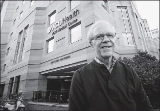 ?? BOB BROWN/TIMES-DISPATCH ?? John Bigbee of Virginia Commonwealth University Medical School is one of just seven Virginia educators to have received the Alpha Omega Alpha Robert J. Glaser Distinguished Teacher Award.