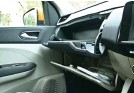 ??  ?? Dual glove-boxes available on Renault Triber are practical to use and can store many usables required in emergencies