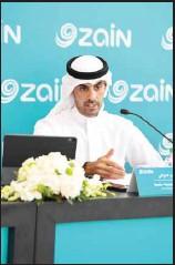 ??  ?? Bader Al-Kharafi, Zain Vice-Chairman and Group CEO