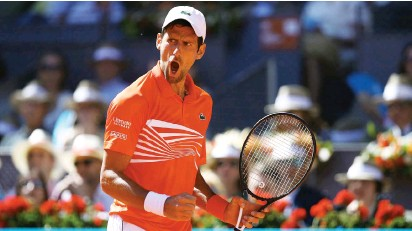 Pressreader Daily Trust 2019 05 14 Djokovic Tightens Grip On Men S Tennis Rankings