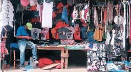 ?? FOTO: DAVID ROMERO ?? Las expectativas por comercio de temporada escolar son bajas.