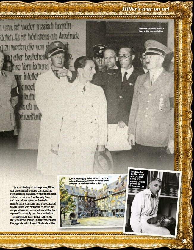 Pressreader All About History 2018 12 06 Hitler S War On Art
