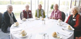 ??  ?? Enjoying the luncheon at Danny's the Venue are Baw Baw Probus Club members (from left) Noreen Kemel, Shirley Saunders, Sheila Kenny, Betty Hallyburton and Norma Wilson.