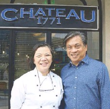 ??  ?? Vicky Pacheco, COO and executive chef of 1771Group, and Ricky Gutierrez, founder and CEO of the 1771 Group of Companies