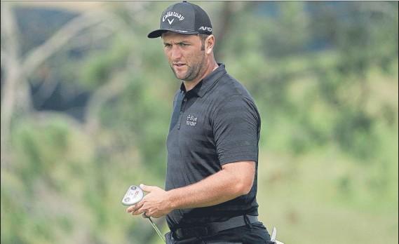 ?? FOTO: AP ?? Jon Rahm ha ganado dos días de entrenamiento en un campo que conoce muy bien por cuanto ganó en él su primer torneo del PGA Tour en 2017 y siempre ha tenido buenos resultados