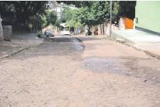 ??  ?? Este tramo ubicado en el barrio San Rafael será reparado por la Comuna esteña. El trayecto tiene una pendiente pronunciada.