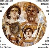 ??  ?? Gommé. L'empereur Septime Sévère (146-211) fit gratter sur les monnaies le visage de son fils Geta.