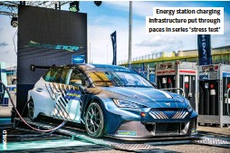 ??  ?? Energy station charging infrastructure put through paces in series 'stress test'