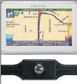??  ?? NIFTY NAVIGATION SYSTEM: Nextar's I4-BC Navigation System with Backup Camera.