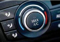 ??  ?? Muchos autos integran calefacción o aire acondicionado.