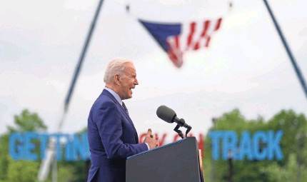 ?? EVAN VUCCI/AP ?? Liberals expect more action from President Joe Biden on health care, climate, voting rights and more.