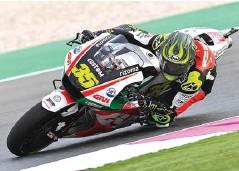 ?? MOTOGP ?? CEPAT: Pembalap LCR Honda asal Inggris Cal Crutchlow sangat berambisi untuk menggusur posisi Daniel Pedrosa di Repsol Honda.