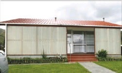 ??  ?? Death house: Janet Moses died in this house in Wainuiomata, as 40 family members watched. A murder investigation is under way.