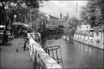 ??  ?? photos by jonathan strug restaurants, cafés and wine bars line the banks of the ljubljanica river as it wends through the city.