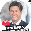?? GARETH AIRD ?? LOW WAGES GROWTH DOESN'T MEAN NO WAGES GROWTH