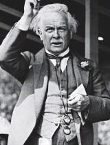 ??  ?? The Goat: Liberal PM Lloyd George