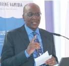 ??  ?? Resident Director of De Beers in Namibia, Daniel Kali