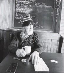 ?? TINA KAFANTARIS ?? Nick Kafantaris died Sunday after a battlewith leukemia. During the pandemic, hewould eat at Joe's Inn on Saturdays before it opened.