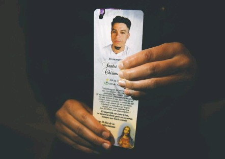 ?? PHOTOS BY CAROLYN VAN HOUTEN/THE WASHINGTON POST ?? Santos Chirino was killed on April 9, 2017 — his 38th birthday — after he was denied asylum by an administrative judge working for the U.S. Justice Department. He was shot in the throat after leaving his Honduran home to attend a soccer game. His brother was also killed.