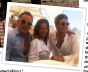 ??  ?? Time out in Buenos Aires & lunching with Jade & The Boss
