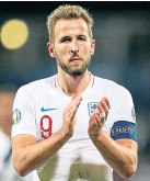 ??  ?? Harry Kane scored in Eng­land's win
