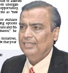 """?? MUKESH AMBANI Chairman of Reliance Industries Ltd YZ ?? """"Our transactions with Saudi Aramco and BP will create 'win-win' relationships, generating significant strategic value for our partners."""""""