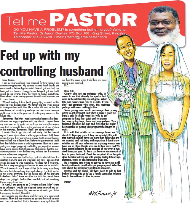what to do with a controlling husband