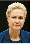 ?? Foto: Carstensen/dpa ?? Manuela Schwesig (SPD), will Gäste nur mit Test und Quarantäne.