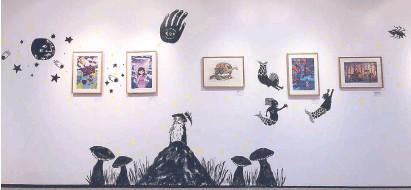 ??  ?? RE_TALE: Philippine Tales Retold exhibit by Ang Ilustrador ng Kabataan at Sining Makiling Gallery in UP Los Baños. Photos by BÜM TENORIO JR.
