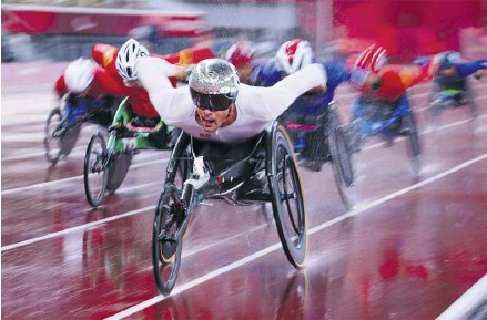 ?? PHOTOGRAPH: ATHIT PERAWONGMETHA/REUTERS ?? ▲ There are fears for Channel 4's public service broadcasting such as its coverage of the Paralympics