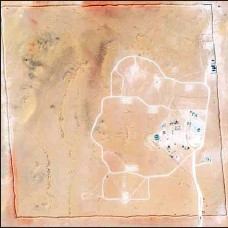 ?? (AP) ?? Left: In this satellite photo provided by Planet Labs Inc., an area of Prince Sultan Air Base in Saudi Arabia shows Patriot missile batteries stationed with one advanced Terminal High Altitude Air Defense unit on Aug. 9, 2021. Right: In this satellite photo provided by Planet Labs Inc., an area of Prince Sultan Air Base in Saudi Arabia that once saw Patriot missile batteries stationed with one advanced Terminal High Altitude Air Defense unit stands empty, Sept. 10, 2021. The U.S. has removed its most advanced missile defense system and Patriot batteries from Saudi Arabia in recent weeks, even as the kingdom faced continued air attacks from Yemen's Houthi rebels, satellite photos analyzed by The Associated Press show.
