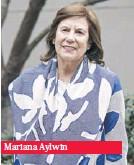 ??  ?? Mariana Aylwin