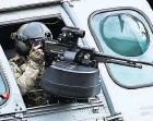 ?? BENOIT TESSIER/REUTERS ?? Israel used a machine gun similar to this one in a remotecontrolled attack in Iran.