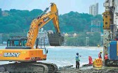 ?? AFP ■ ?? Building blocks: A lot of infrastructure projects are coming back on track, says Sundaram Finance's MD.