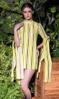 ??  ?? Mini dress by Mark Bumgarner