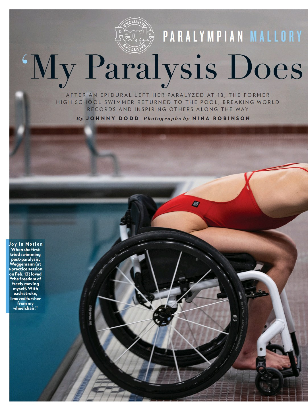 ??  ?? Joy in Motion